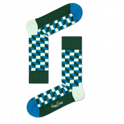 Ponožky Happy Socks Filled Optic Sock (FIO01-6301)