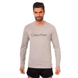 Pánské triko Calvin Klein šedé (NM1345E-080)