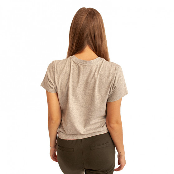 Dámské tričko Calvin Klein šedé (QS6356E-020)