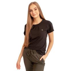 2PACK Dámské tričko CK ONE černé (QS6442E-001)