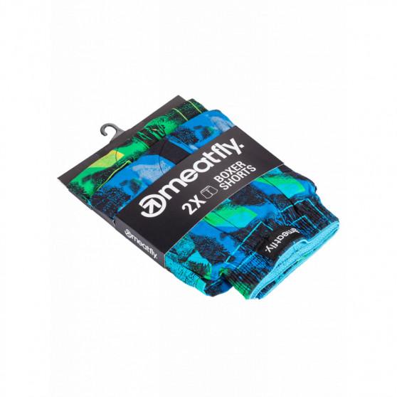2PACK pánské trenky Meatfly vícebarevné (Agostino - Substance)