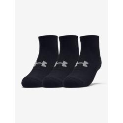 3PACK ponožky Under Armour černé (1346772 001)