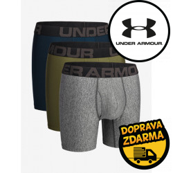 3PACK pánské boxerky Under Armour vícebarevné (1363620 010)
