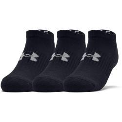 3PACK ponožky Under Armour černé (1347094 001)