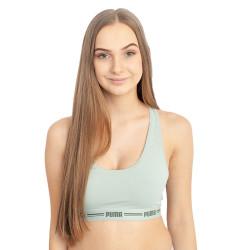 Dámská sportovní podprsenka Puma zelená (604022001 002)