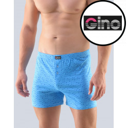 Pánské trenky Gino světle modré (75157)