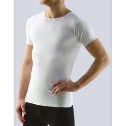 Pánské tričko Gino bambusové bílé (58003)