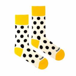 Veselé ponožky Fusakle puntíkáč makový (--1087)