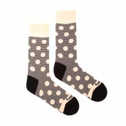 Veselé ponožky Fusakle chameleon albín (--0796)