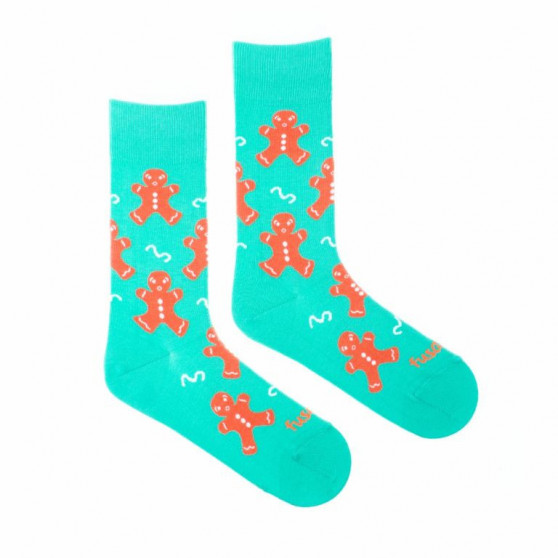 Veselé ponožky Fusakle perníček (--1066)