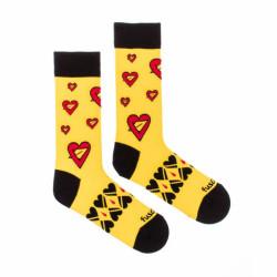 Veselé ponožky Fusakle seman srdce (--0908)