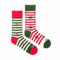 Veselé ponožky Fusakle Vánoce na sněhu (--1065)