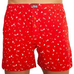 Pánské trenky Gino červené (75154)
