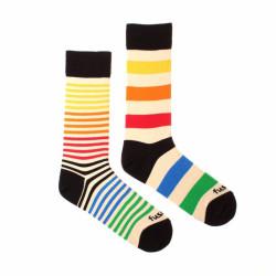 Veselé ponožky Fusakle extrovert barevný (--0802)