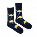 Veselé ponožky Fusakle podzimní den (--1039)