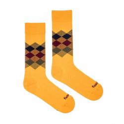 Veselé ponožky Fusakle kosočtverec léto (--0808)