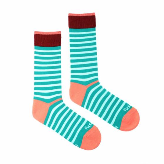Veselé ponožky Fusakle proužek odvážný (--0812)