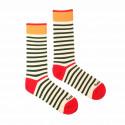 Veselé ponožky Fusakle proužek veselý (--0813)