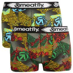 2PACK pánské boxerky Meatfly vícebarevné (Balboa 2 - B)