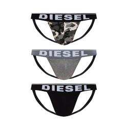 3PACK pánské jocksy Diesel vícebarevné (00SH9I-0WBAE-E5359)