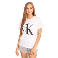 Dámské tričko CK ONE bílé (QS6436E-7UM)