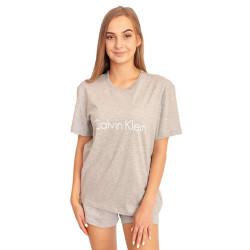 Dámské tričko Calvin Klein šedé (QS6105E-020)