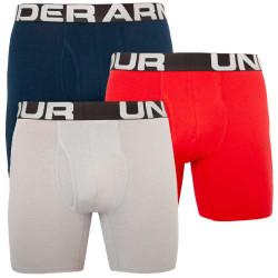 3PACK pánské boxerky Under Armour vícebarevné (1363617 600)