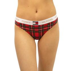 Dámské kalhotky Tommy Hilfiger červené (UW0UW02474 0QJ)