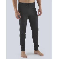 Pánské kalhoty na spaní Gino tmavě šedé (79085)