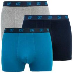 3PACK pánské boxerky CR7 vícebarevné (8100-49-2677)