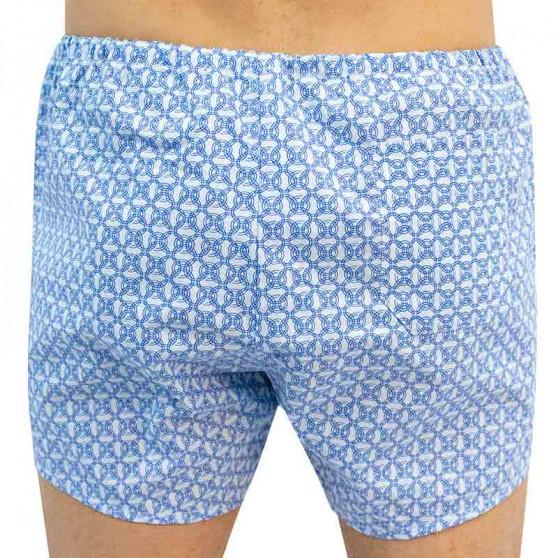 Klasické pánské trenky Foltýn s modrými kroužky