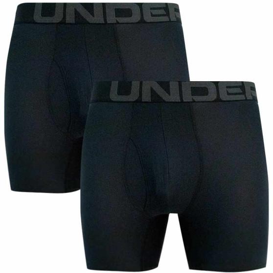 2PACK pánské boxerky Under Armour černé (1363619 001)