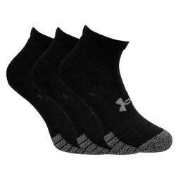 3PACK ponožky Under Armour černé (1346753 001)