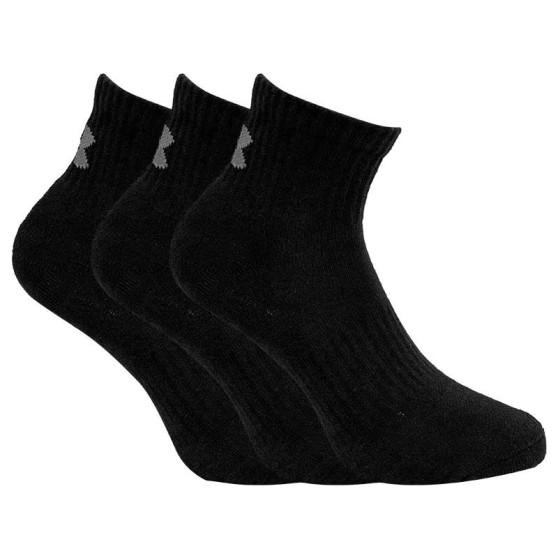 3PACK ponožky Under Armour černé (1346770 001)