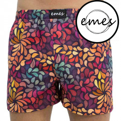 Pánské trenky Emes barevné lístky (031)