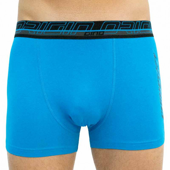 Pánské boxerky Gino modré (73093)