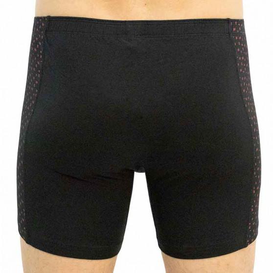 Pánské boxerky Gino černé (74129)