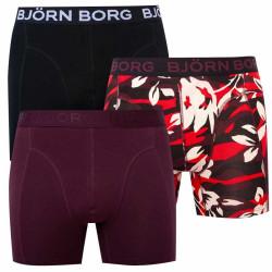 3PACK pánské boxerky Bjorn Borg vícebarevné (2031-1021-40541)
