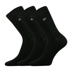 3PACK ponožky BOMA černé (Zolik)
