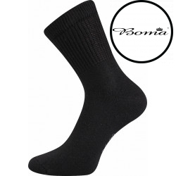 Ponožky BOMA černé (012-41-39 I)