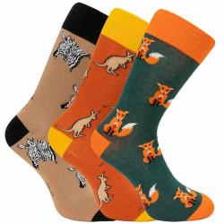 3PACK ponožky crazy Bellinda vícebarevné (1004-308 B)