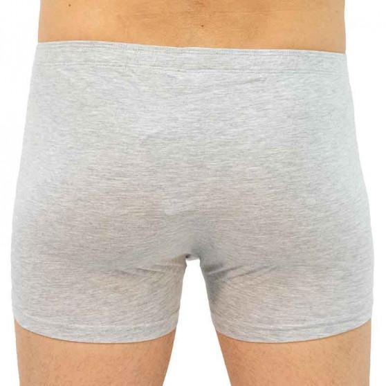 Pánské boxerky Gino šedé (73092)