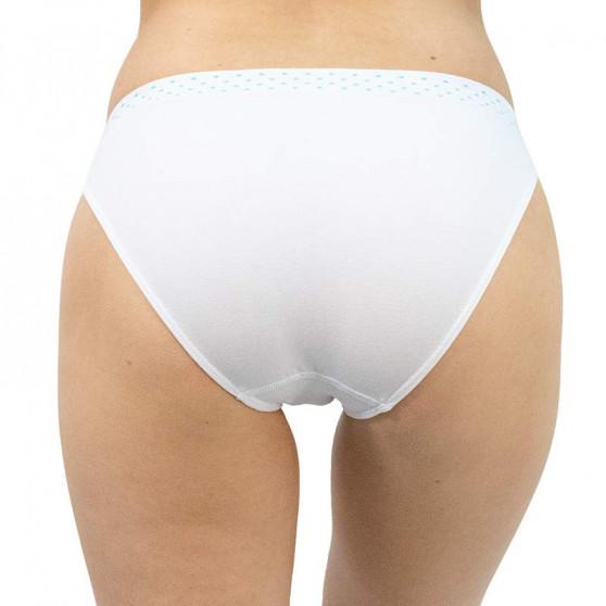 Dámské kalhotky Gina bílé (00033)