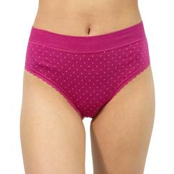 Dámské kalhotky Gina tmavě růžová (10237)