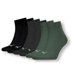 3PACK ponožky Puma vícebarevné (271080001 005)