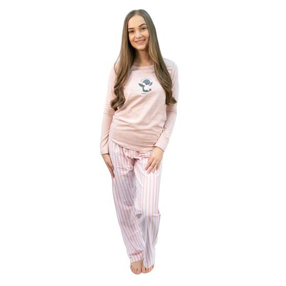 Dámské pyžamo Gina růžové (19085)