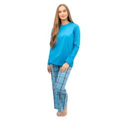 Dámské pyžamo Molvy modré (KT-039)