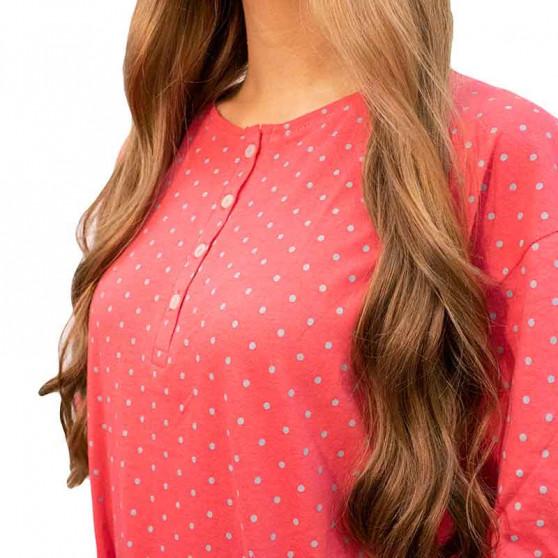 Dámská noční košile Molvy růžová (AV-4312)