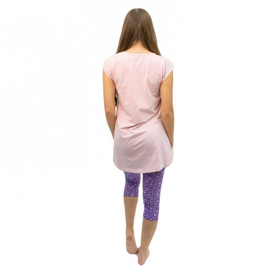 Dámské pyžamo Gina růžové (19104)