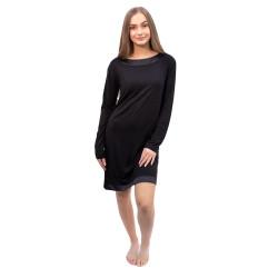 Dámská noční košile Calvin Klein černá (QS6532E-UB1)